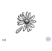 Grafsteenwinkel Afbeelding bloem