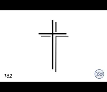 Grafsteenwinkel Afbeelding kruis dubbel