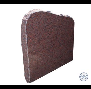 Grafsteenwinkel Grafsteen in rode steensoort