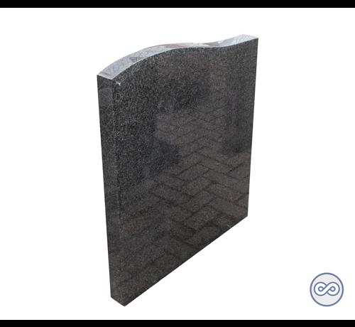 Grafsteenwinkel Granieten staande gedenksteen