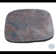 Grafsteenwinkel Grafsteen met ruwe afwerking in rood/bruin graniet