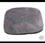 Grafsteen met ruwe afwerking in rood/bruin graniet