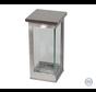 Moderne zilveren lantaarn