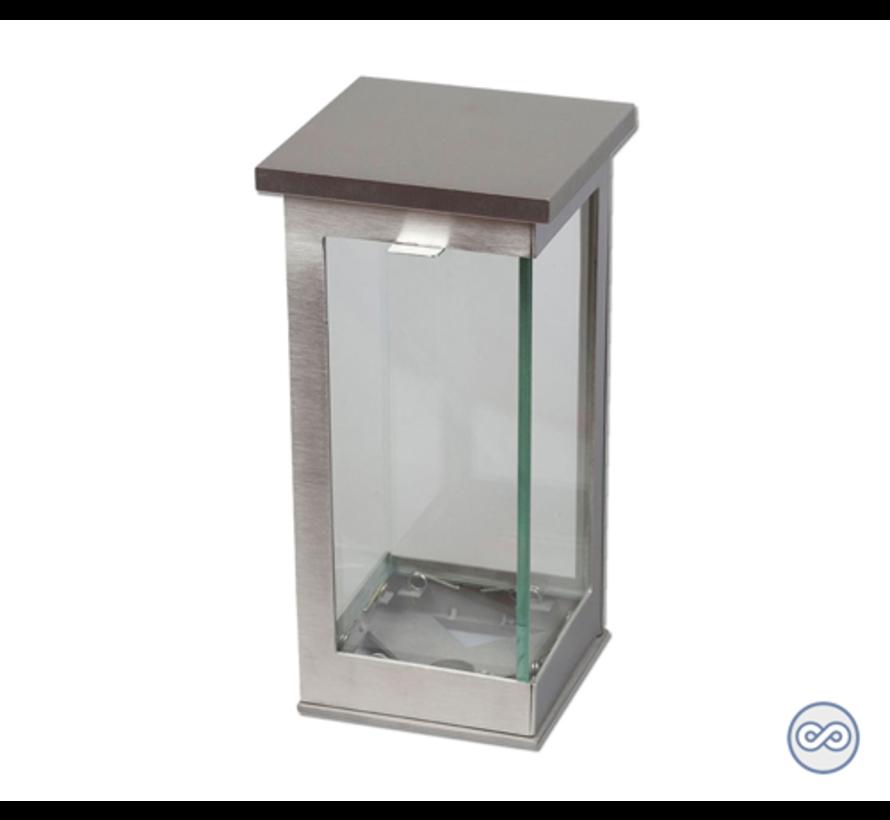 Zilveren simpele lantaarn