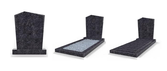 Soorten staande grafstenen