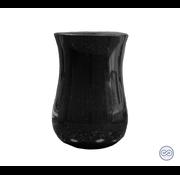 Zwarte grafvaas