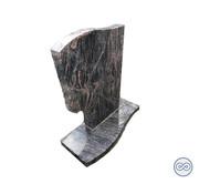 Grafsteenwinkel Bijzondere staande grafsteen van graniet