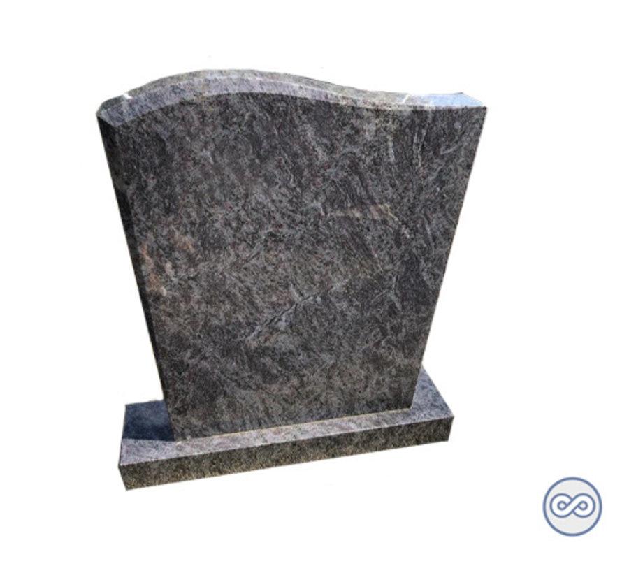 Letterplaat golf orion graniet