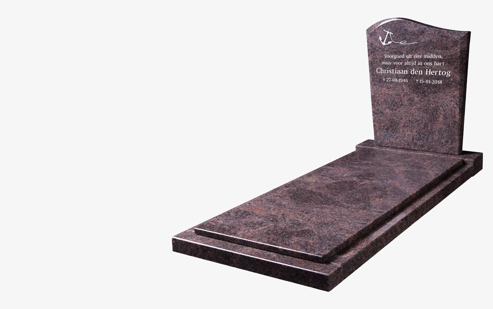 Liggende <br>grafstenen