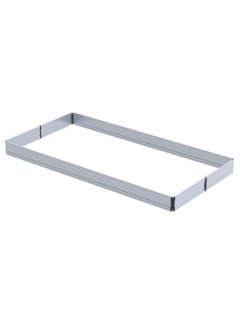 Aluminium kantplankset 1.35 x 2.45m rs tower 5-serie