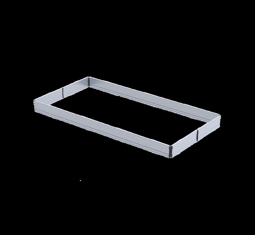 Aluminium kantplankset 0.75 x 2.45m rs tower 5-serie