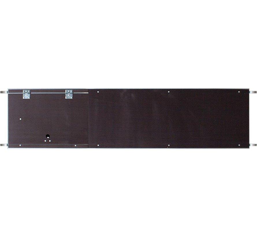 Platform met luik 2,45x0,60m