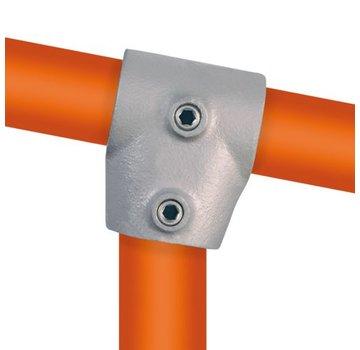 Easyclamp Type 2S: Kort T-stuk variabele hoek: 0 ° - 11 °