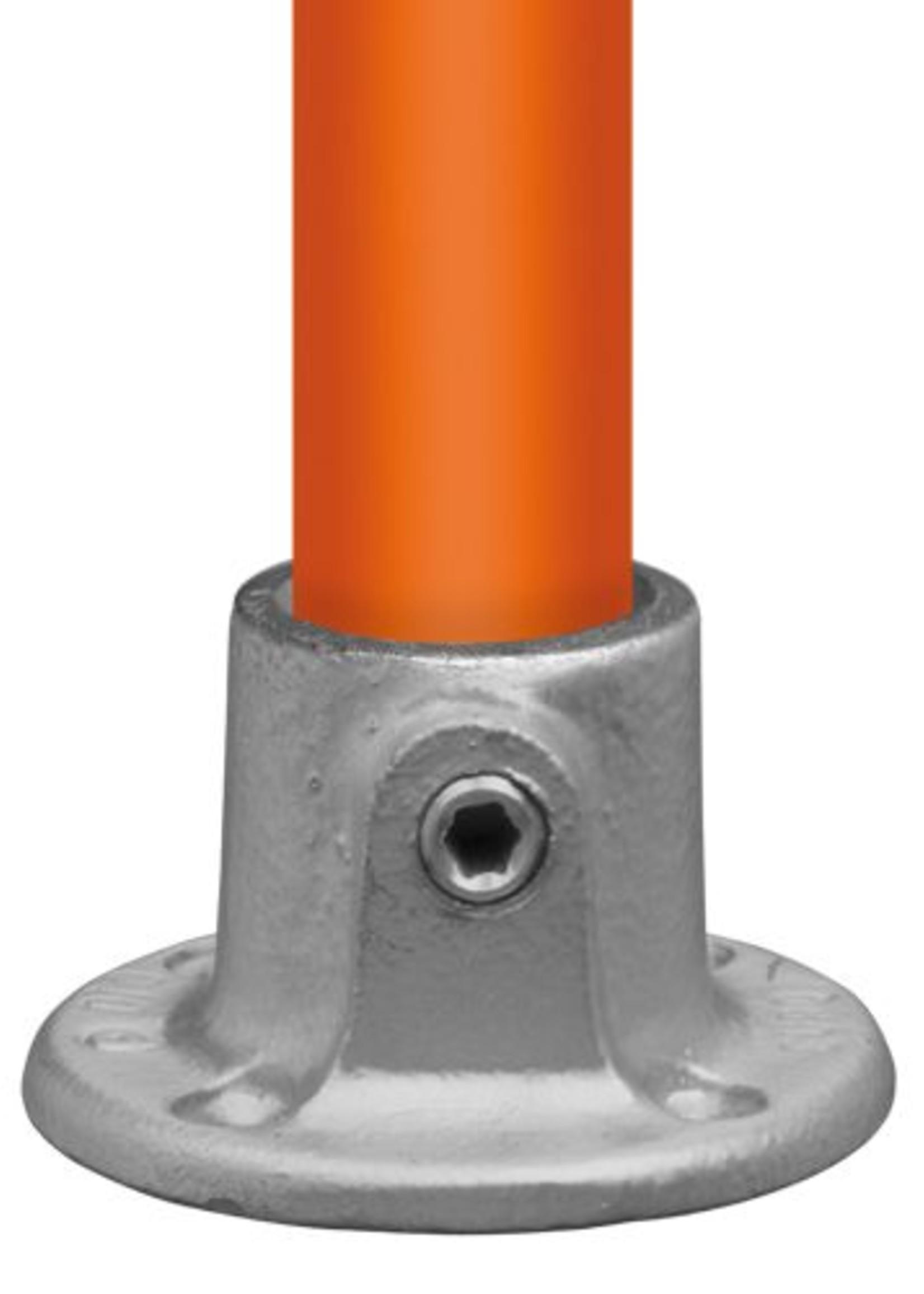Easyclamp Type 10: ronde voetplaat