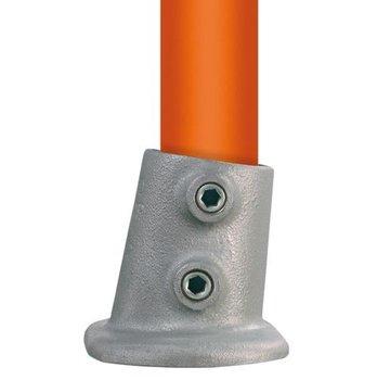 Easyclamp Type 12S ovale voetplaat variabele hoek: 0 ° - 11 °