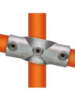 Easyclamp Type 22S: Kruisstuk in 1 vlak voor helling 0°-11°