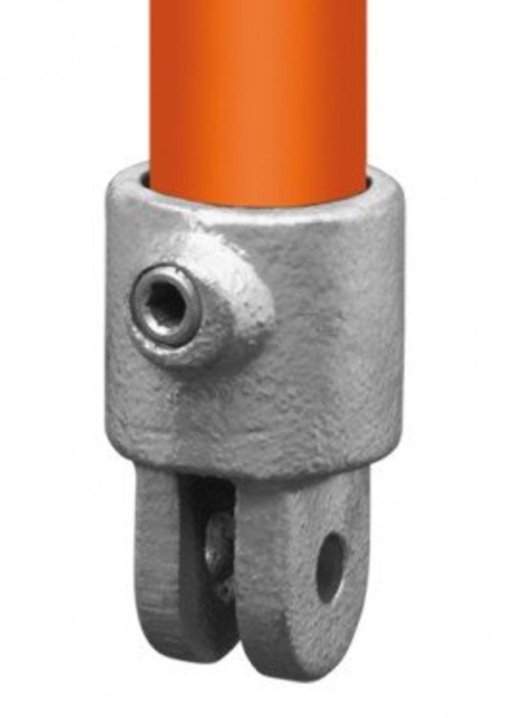 Easyclamp Type 42: Huls t.h.v. scharnierstuk