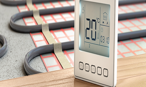 Vloerverwarming & vloerkoeling