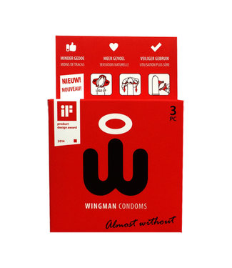 Wingman Condooms Wingman Condoms 3 Pieces