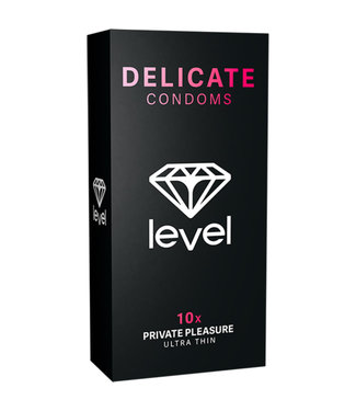 Level Delicate Condoms - 10x