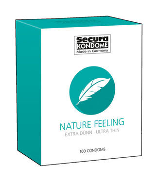 Secura Kondome Nature Feeling Condoms - 100 Pieces