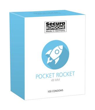 Secura Kondome Secura Pocket Rocket Condoms - 100 Pieces