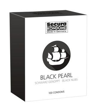 Secura Kondome Secura Black Pearl Condoms - 100 Pieces
