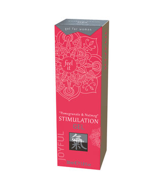 Shiatsu Stimulation Gel - Pomegranate & Nutmeg