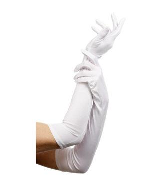 Fever Lange Handschoenen - Wit