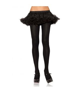 Leg Avenue Nylon Panty - Zwart