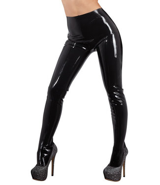 The Latex Collection Latex Panty - Zwart