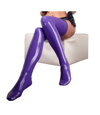 The Latex Collection Latex Kousen - Paars
