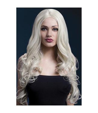 Fever Fever- Lange blonde pruik