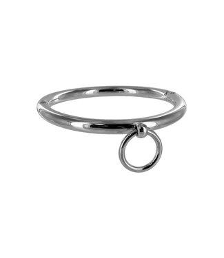 Master Series Stalen halsband met ring