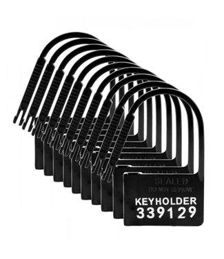 Master Series Keyholder Kuisheidskooi Hangslotjes - 10 Stuks