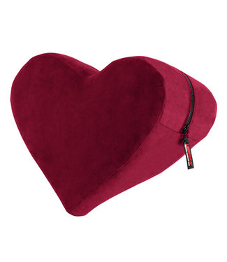 Liberator Heart Wedge Positiekussen - Merlot