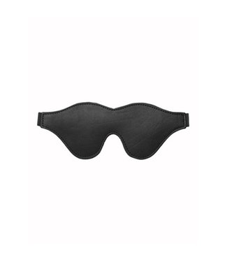 Strict Leather Strict Leather Black Fleece Lined Blindfold