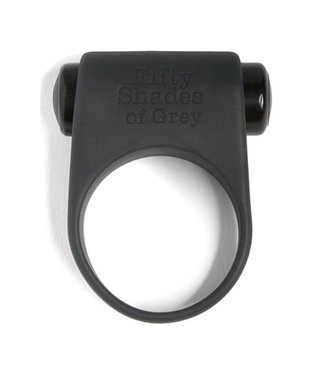 Fifty Shades of Grey Siliconen penisring - 50 tinten grijs