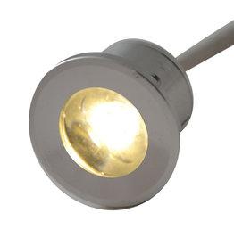 Outlight Ledspot inbouw Forte Mini 1W 2700K