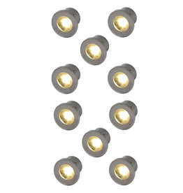 Outlight Led inbouwspots Forte Mini (10x) 2700K
