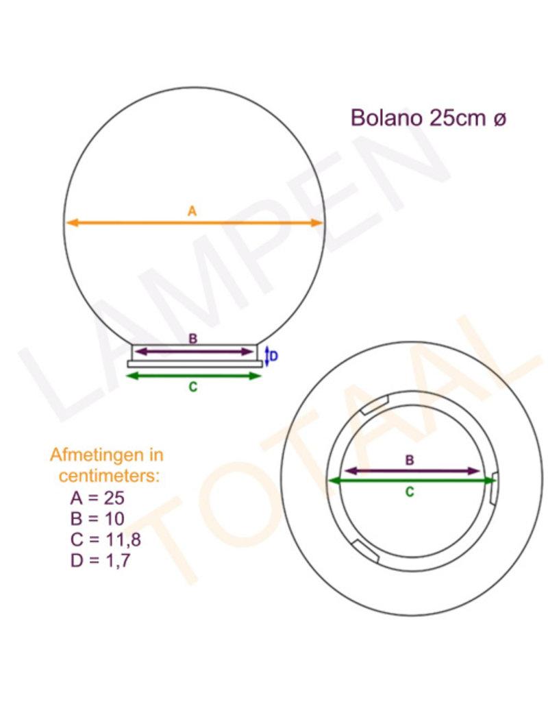 Outlight Bol lamp Bolano 176cm. staand