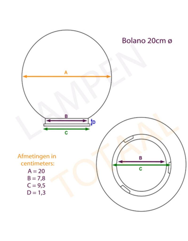 Outlight Bollamp Bolano 20cm.