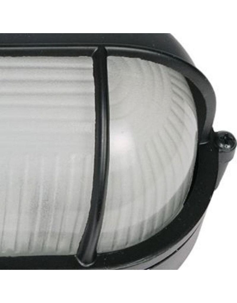 Outlight Aluminium Bullseye lamp 28cm.