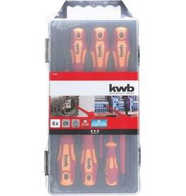 KWB Schroevendraaierset 1000 volt