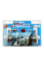All-ride Autolampenset Xenon box - H4 (7x) wit