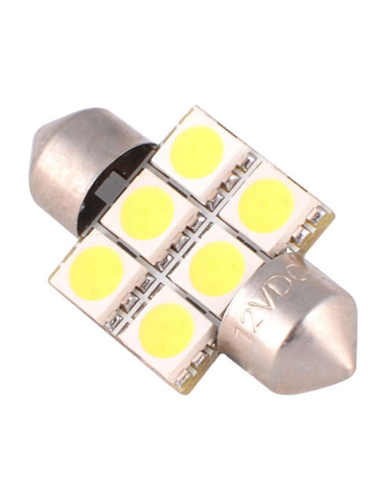 All-ride Autolamp 11x31 - 12V - LED wit