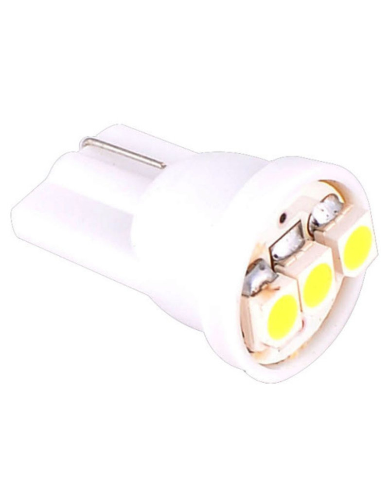 All-ride Autolamp T10 - Wedge - 12V - LED wit