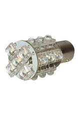 All-ride Autolamp BA15S - 12V - LED rood