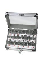 Ferm Frezenset in koffer 20 delig - PRA1008