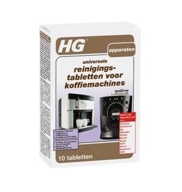 HG international Reinigingstabletten voor koffiemachines, 10 stuks